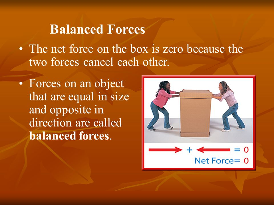 What is force.A force is a push or pull. Sometimes it is obvious that a force has been applied.
