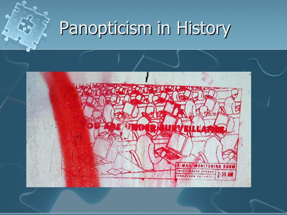 Panopticism in History