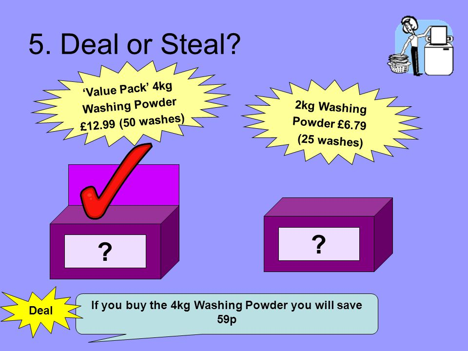 5. Deal or Steal.