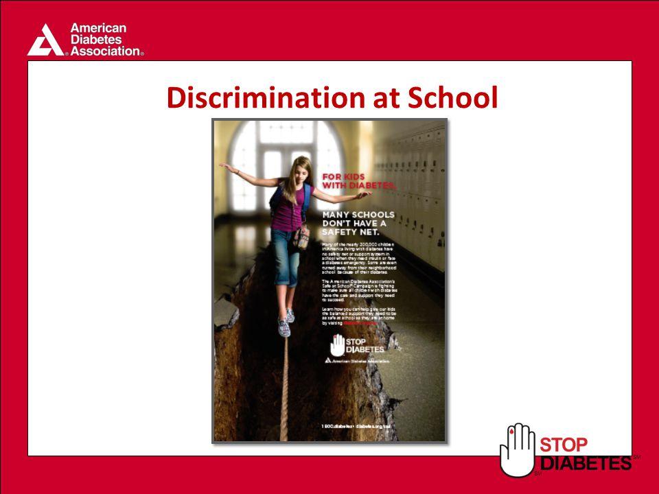 SM Discrimination at School