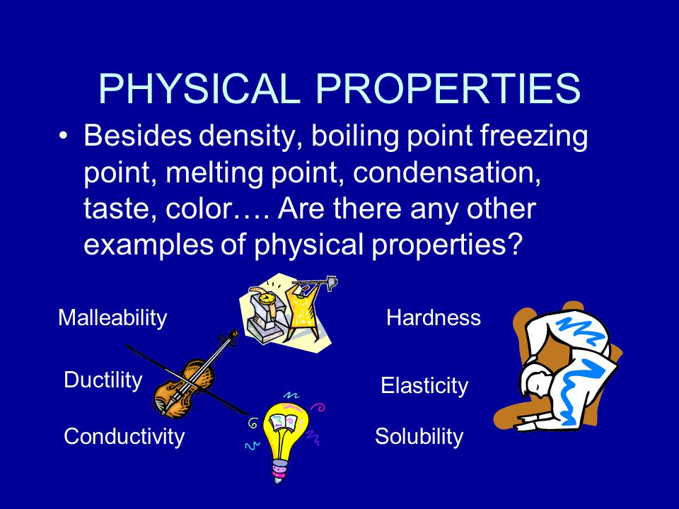 PROPERTIES OF MATTER LETS REVIEW! CHEMICAL PROPERTY because it is used to describe a substances ability to react with another substance. Flammability,