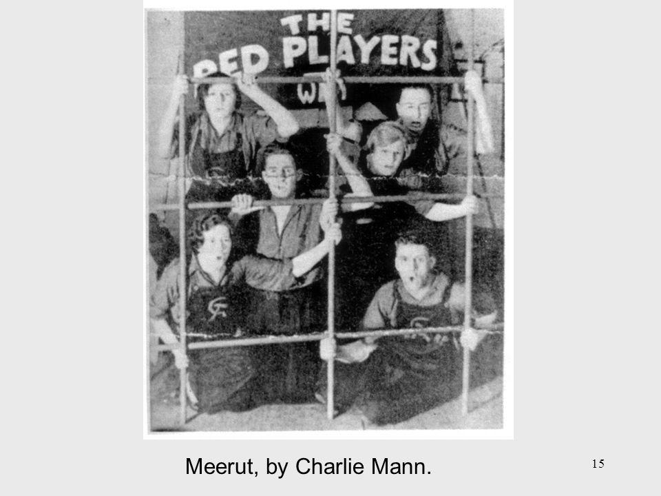 15 Meerut, by Charlie Mann.