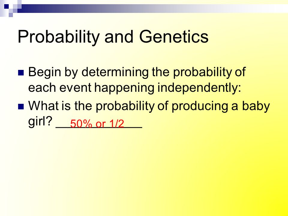 The Two Factor Cross The only possible result of this cross is … RrYy = F 1 generation What is the phenotype of the offspring.