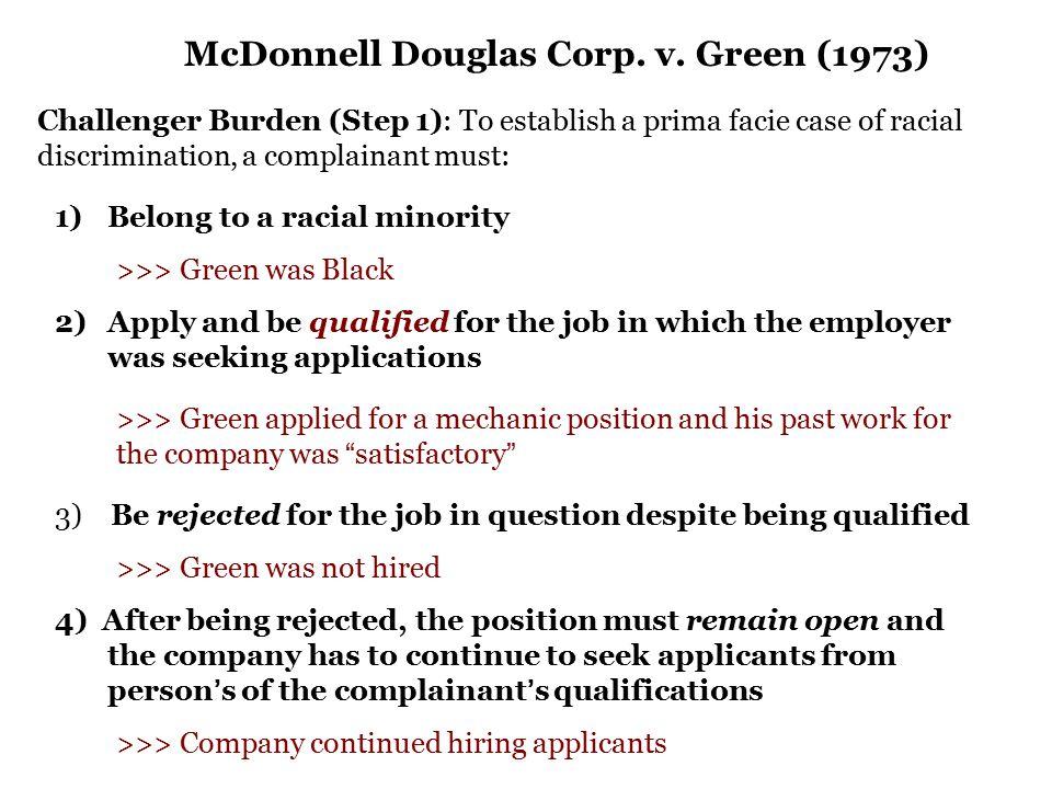 McDonnell Douglas Corp. v.