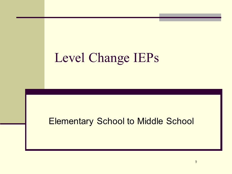 10 Purpose of the IEP To provide the parents a chance to meet the new providers, discuss the new goals, and tour the building To make sure all parties are on the same page with hours of service, goals, and data To answer questions
