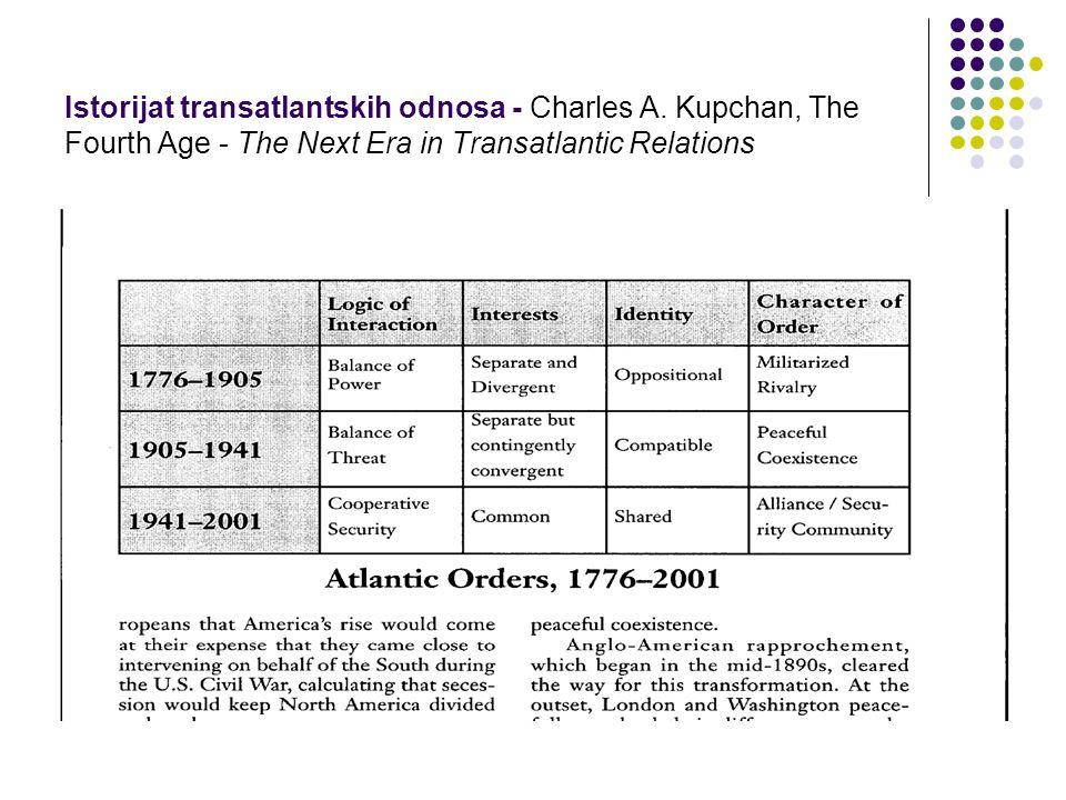 Istorijat transatlantskih odnosa - Charles A.