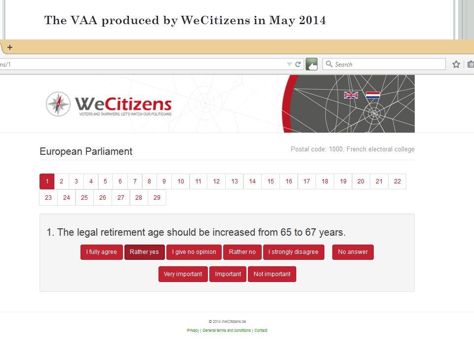 www.WeCitizens.be info@WeCitizens.be Adm.