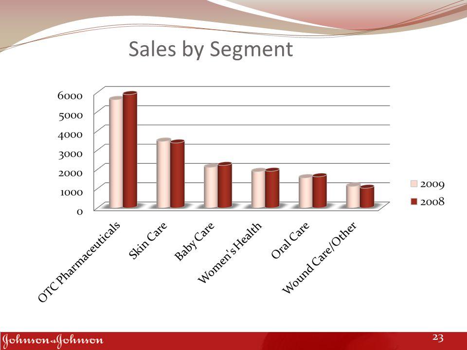 Sales by Segment 23