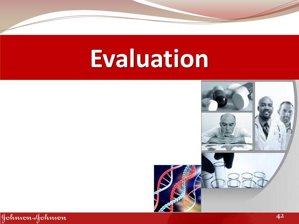 Evaluation 42