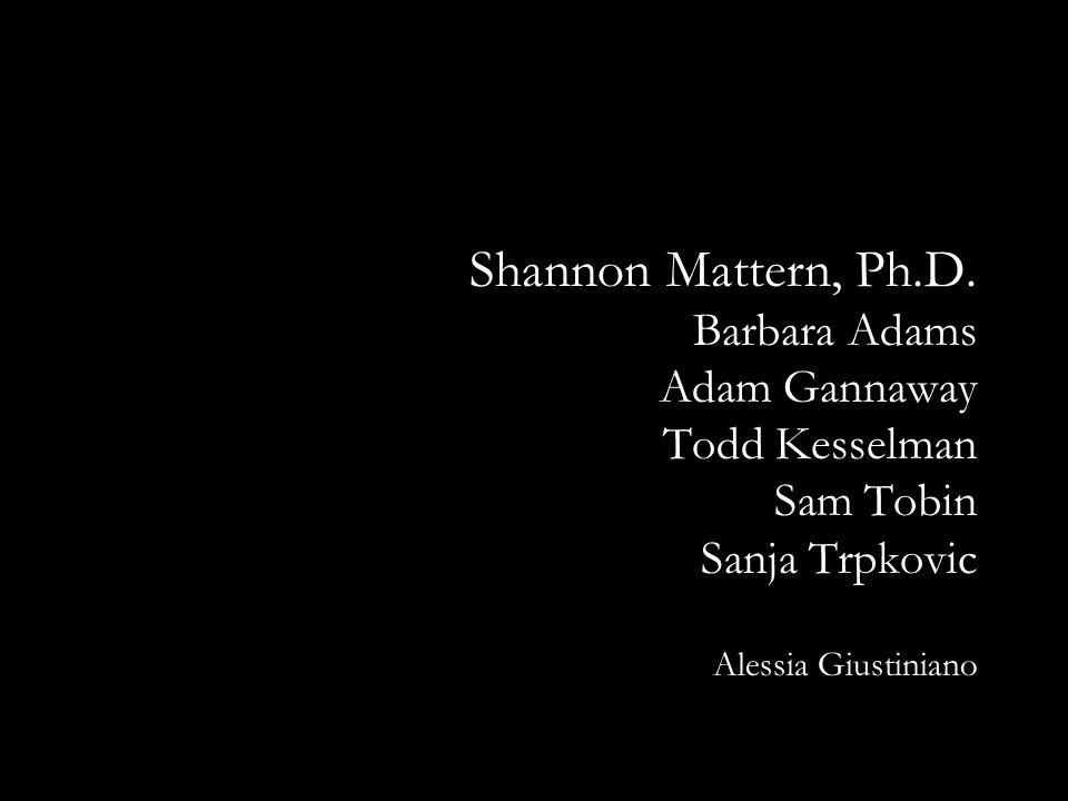 Shannon Mattern, Ph.D.