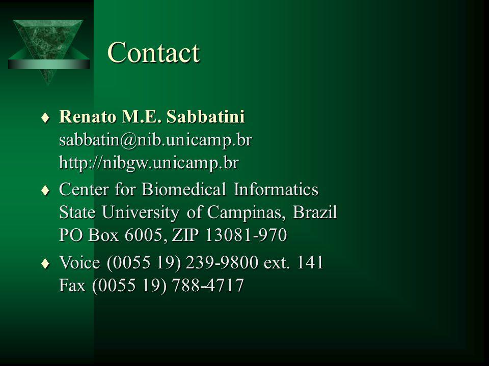 Contact t Renato M.E.