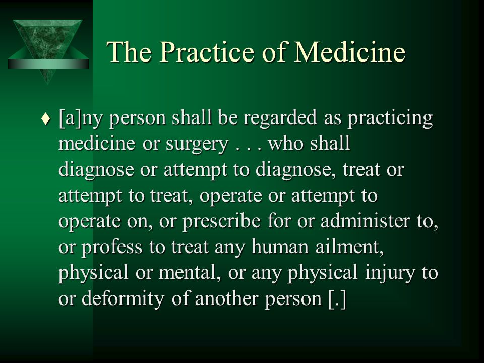Main Types of Distance Medical Practice t Patient education t Patient screening and referral t Clinical case discussion t Second-opinion consultation t Distance diagnosis and therapy