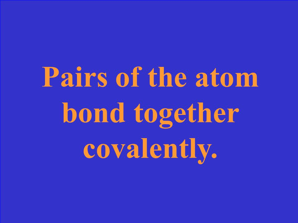 "This is what it means that an atom is ""diatomic""."