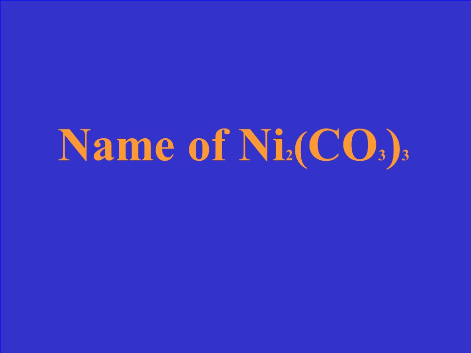 What is carbon tetrachloride