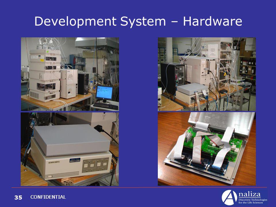 35 CONFIDENTIAL Development System – Hardware