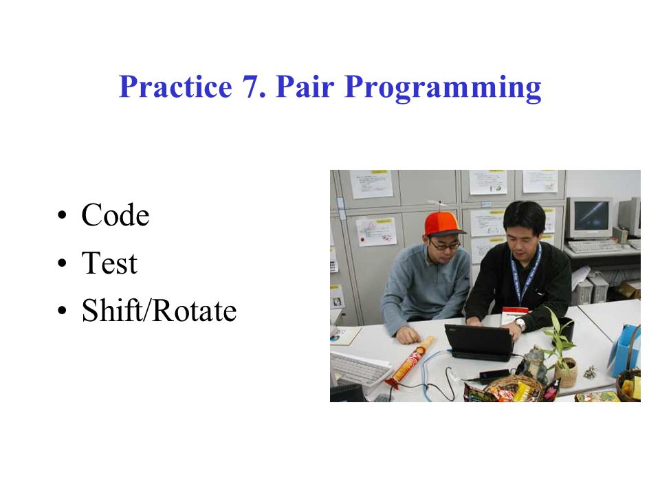 Practice 7. Pair Programming Code Test Shift/Rotate