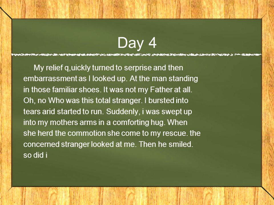 Day 3 In the early 1900s a man named alfred wegener noticed something interesting.