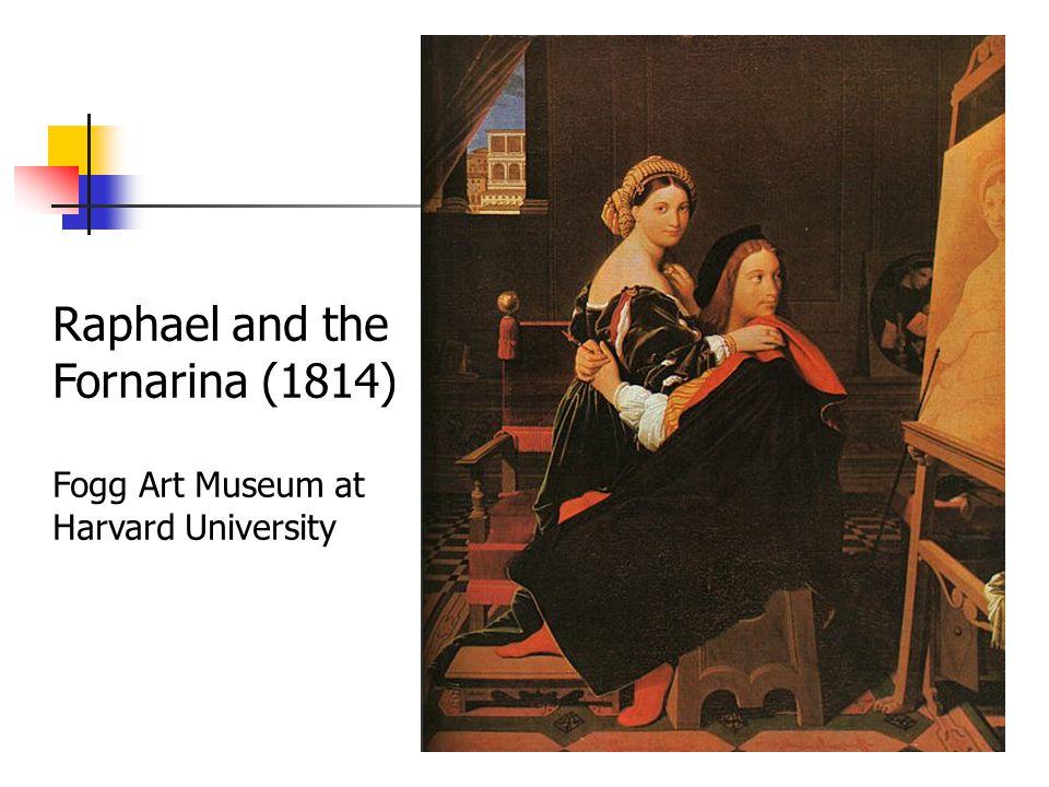 Raphael and the Fornarina (1814) Fogg Art Museum at Harvard University