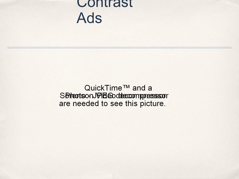Contrast Ads