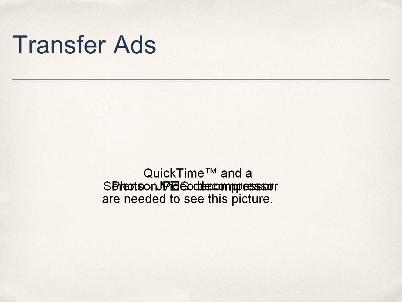 Transfer Ads