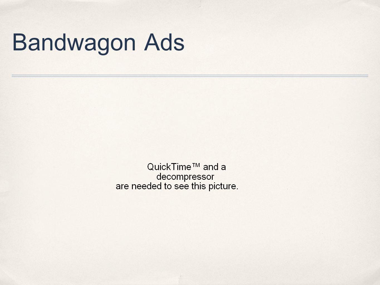 Bandwagon Ads