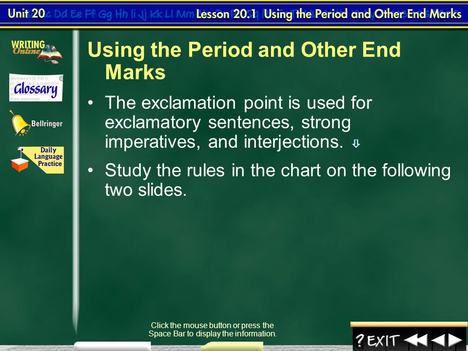 Using Hyphens, Dashes, and Parentheses (cont.) Lesson 8-3