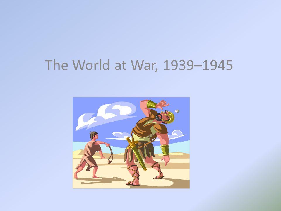 The World at War, 1939–1945