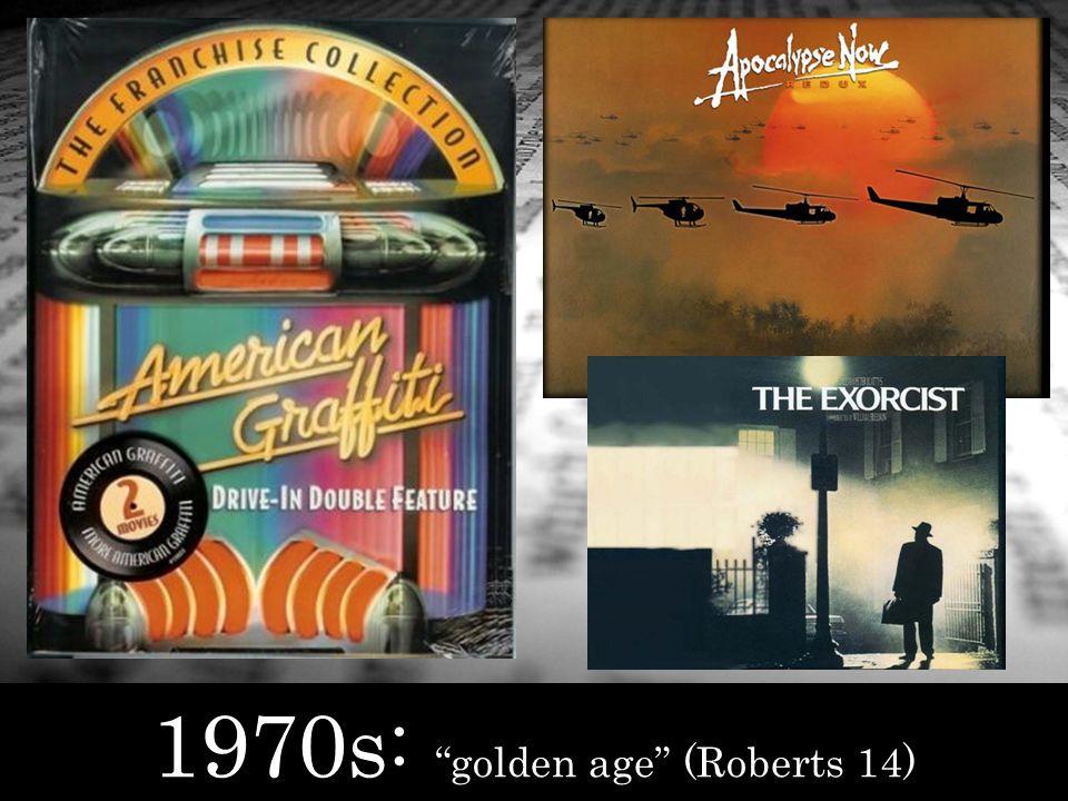 1970s : golden age (Roberts 14)