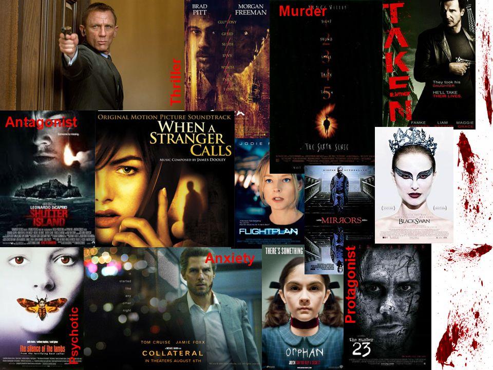 Thriller Anxiety Protagonist Antagonist Psychotic Murder
