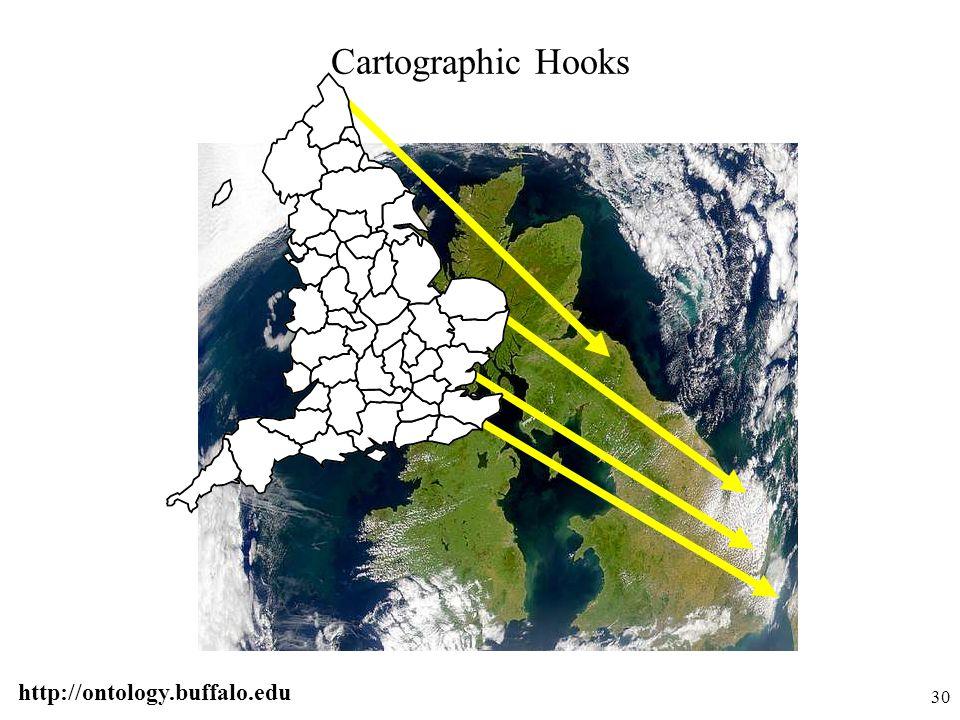 http://ontology.buffalo.edu 30 Cartographic Hooks