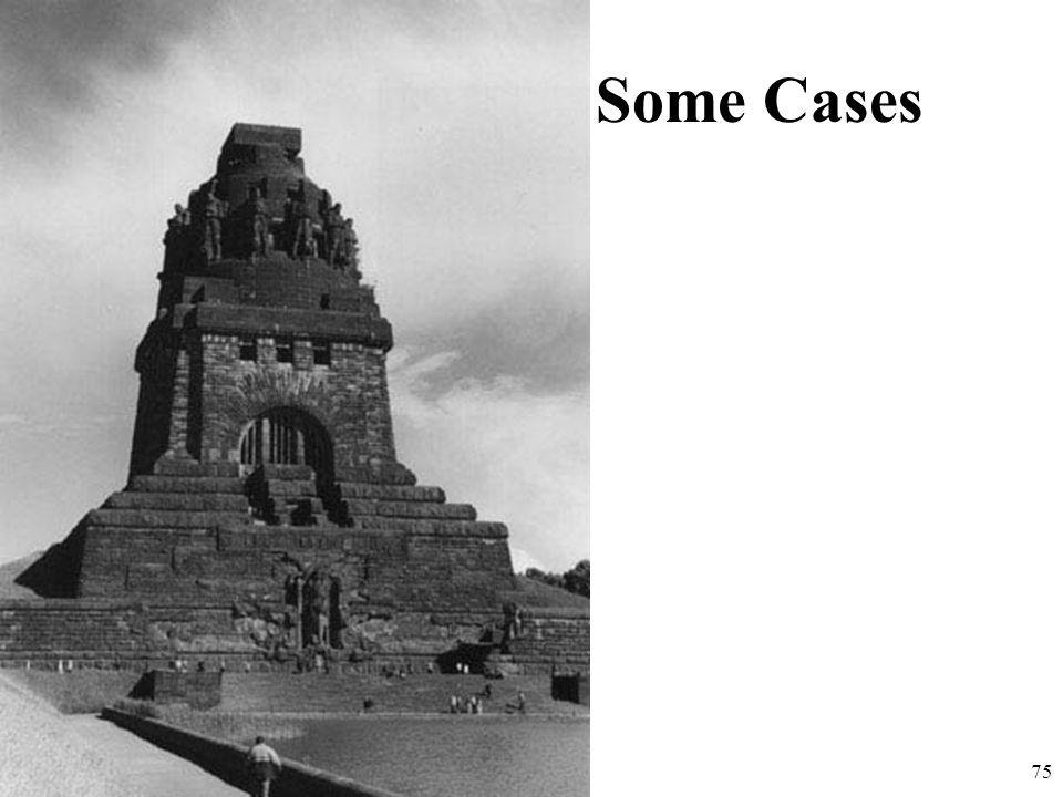 http://ontology.buffalo.edu 75 Some Cases