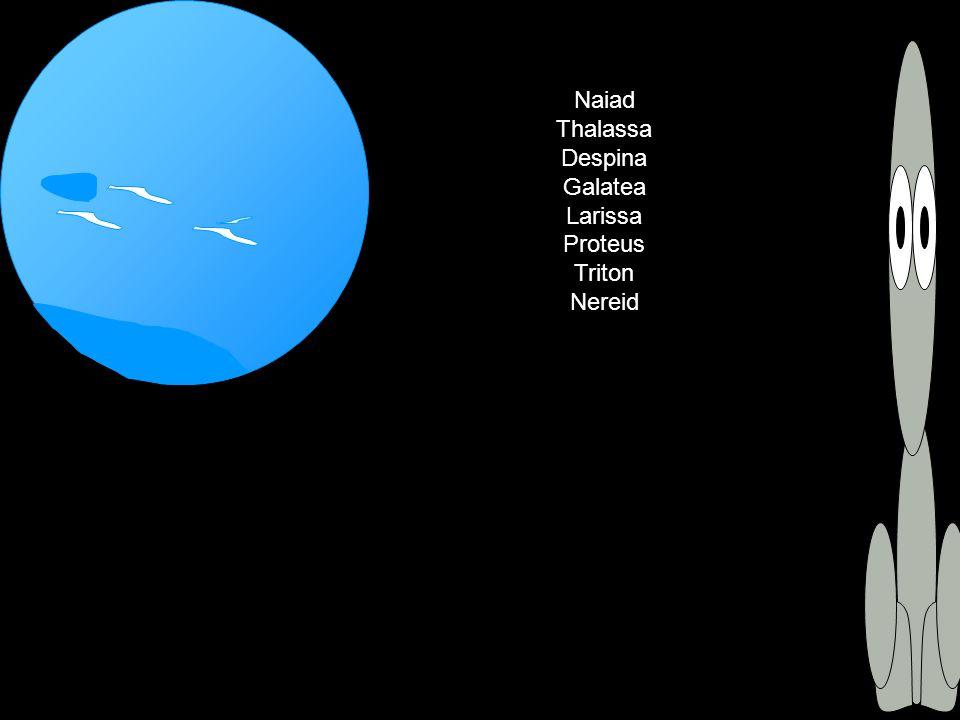 Naiad Thalassa Despina Galatea Larissa Proteus Triton Nereid