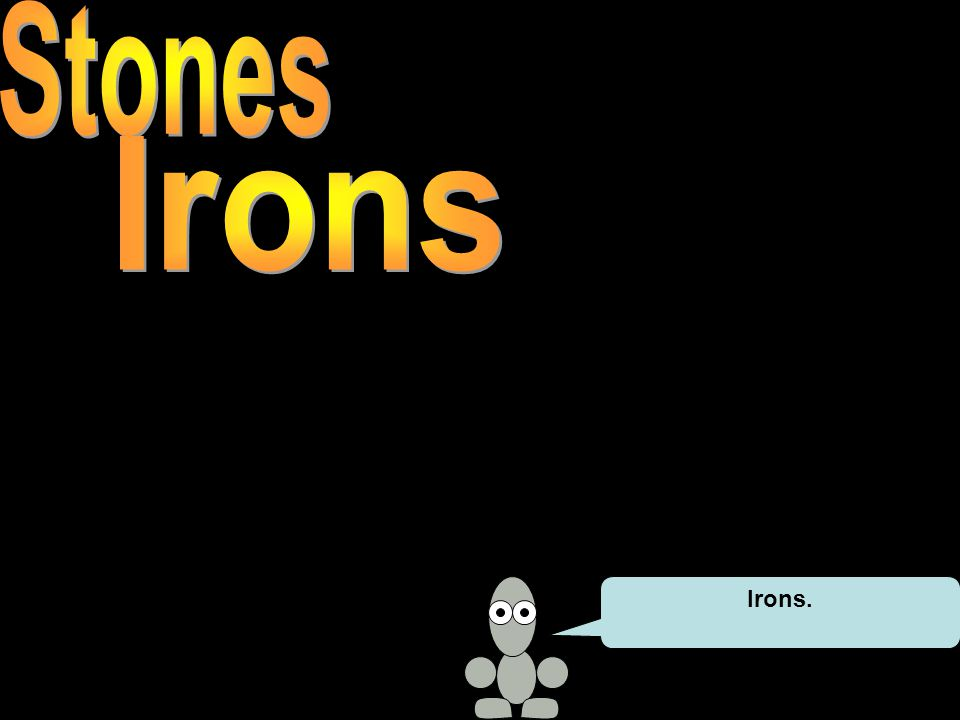 Irons.