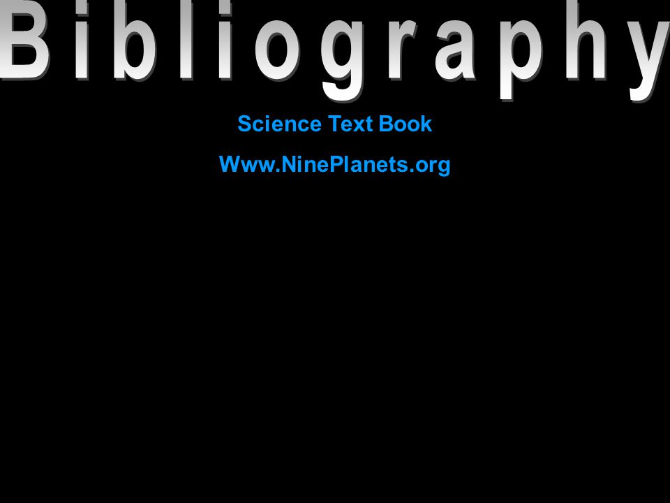 Science Text Book Www.NinePlanets.org