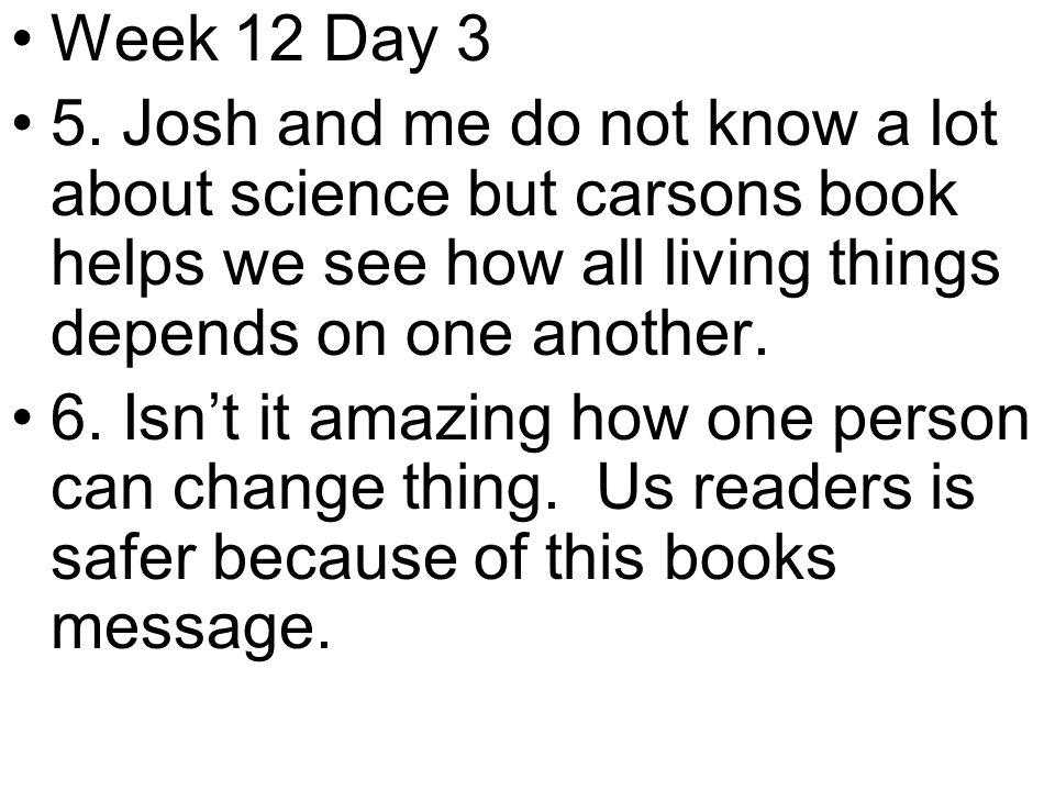 Week 12 Day 3 5.