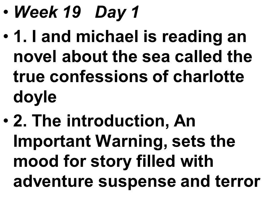 Week 19 Day 1 1.