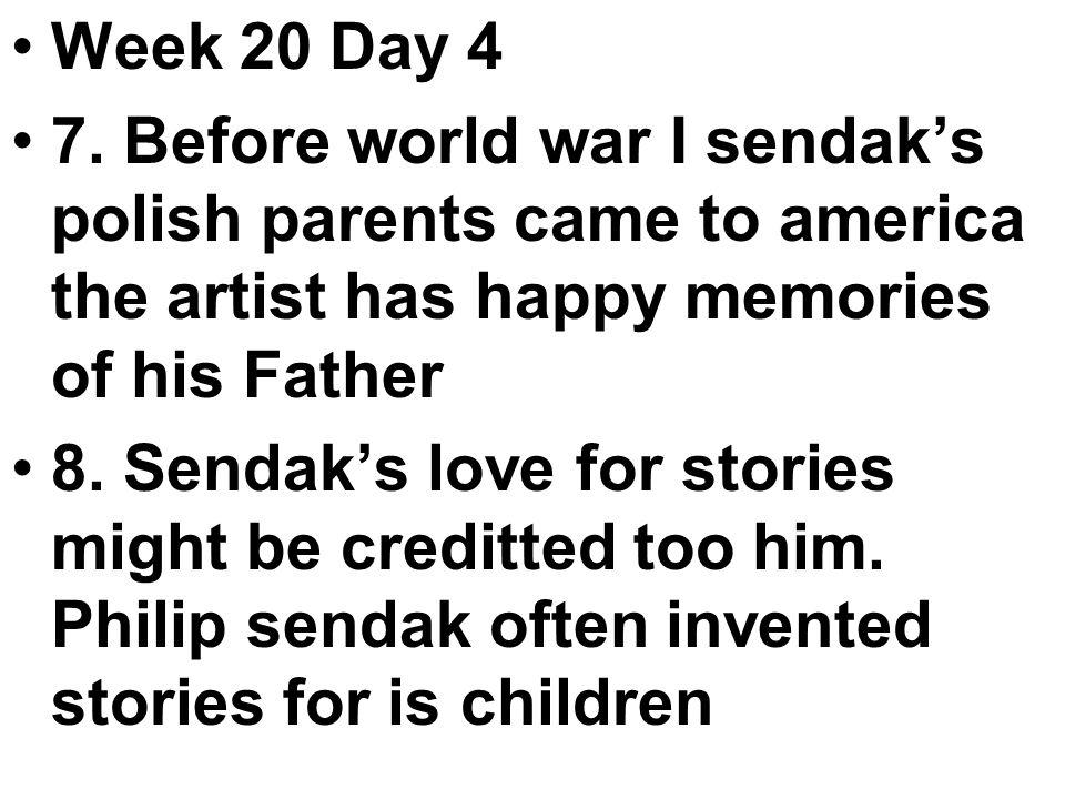 Week 20 Day 4 7.