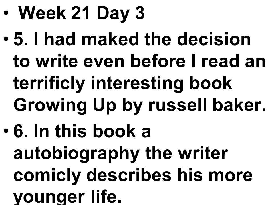 Week 21 Day 3 5.
