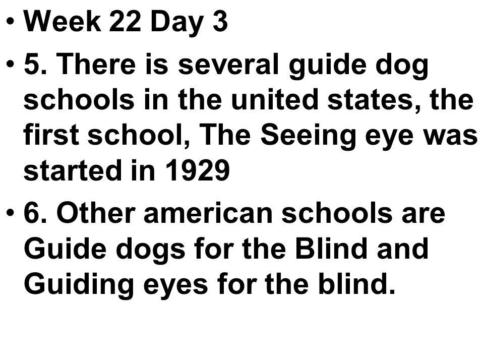 Week 22 Day 3 5.