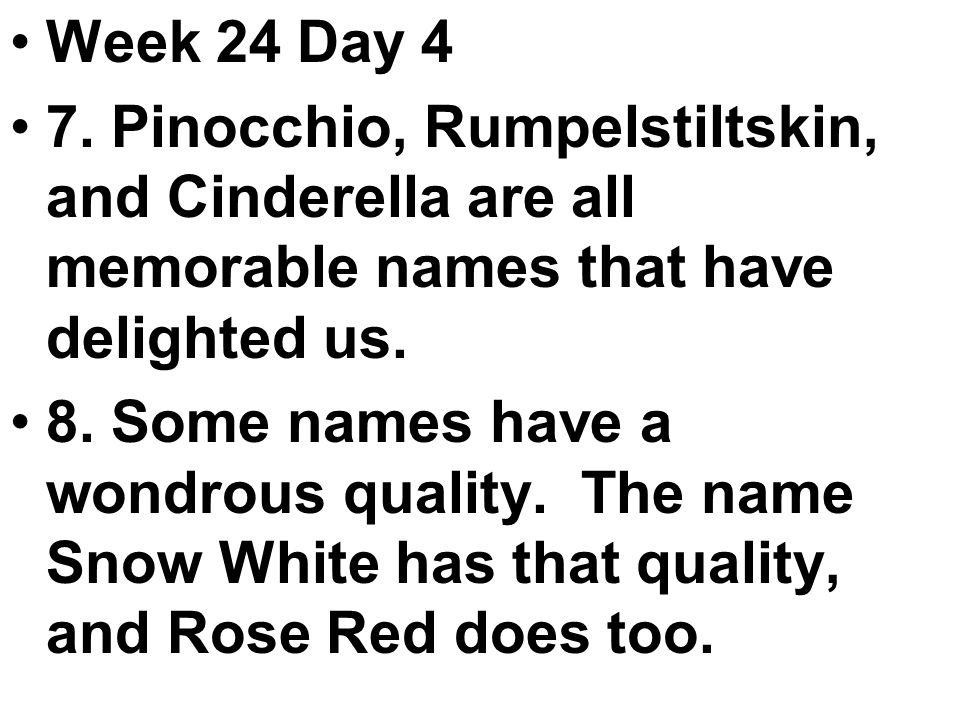 Week 24 Day 4 7.