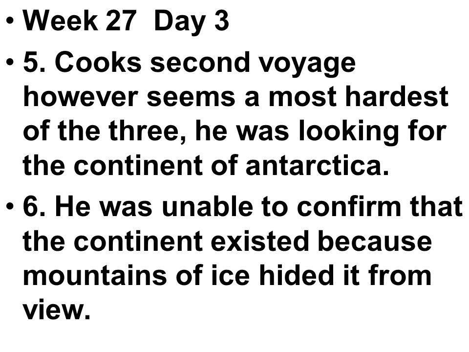 Week 27 Day 3 5.