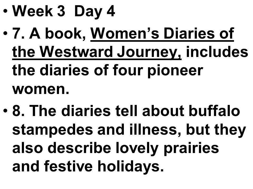 Week 3 Day 4 7.