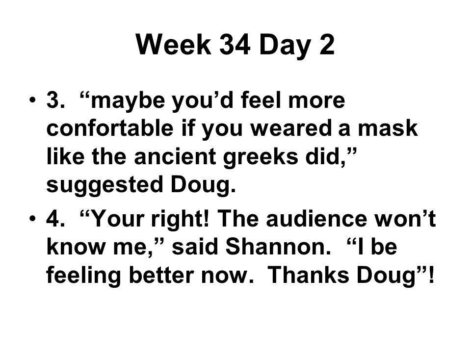 Week 34 Day 2 3.