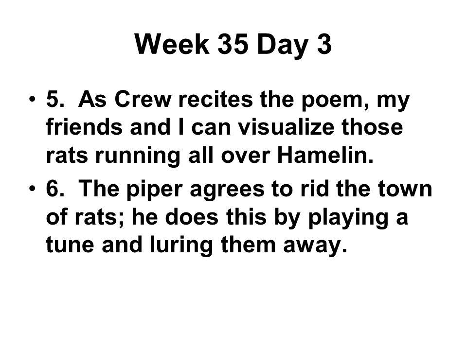 Week 35 Day 3 5.