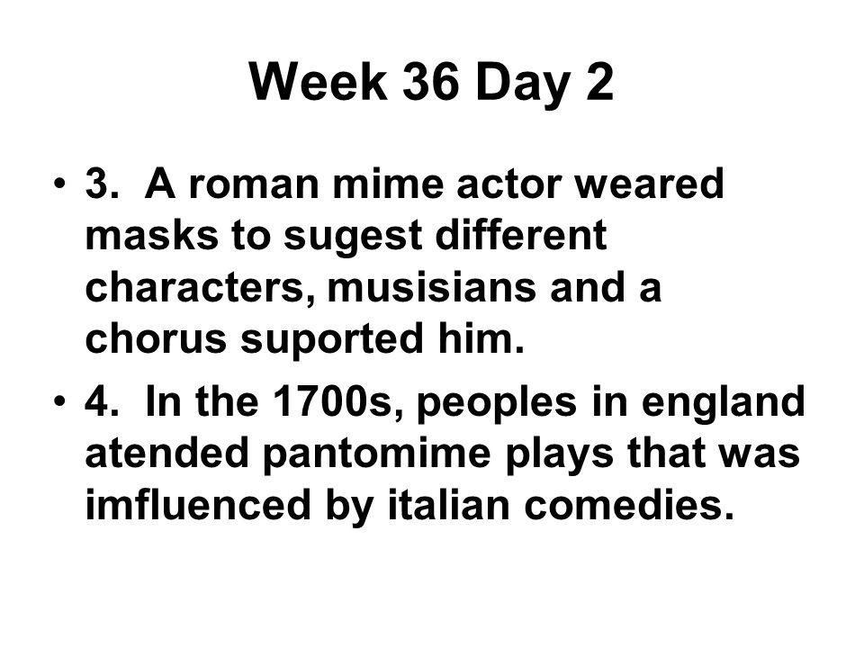 Week 36 Day 2 3.