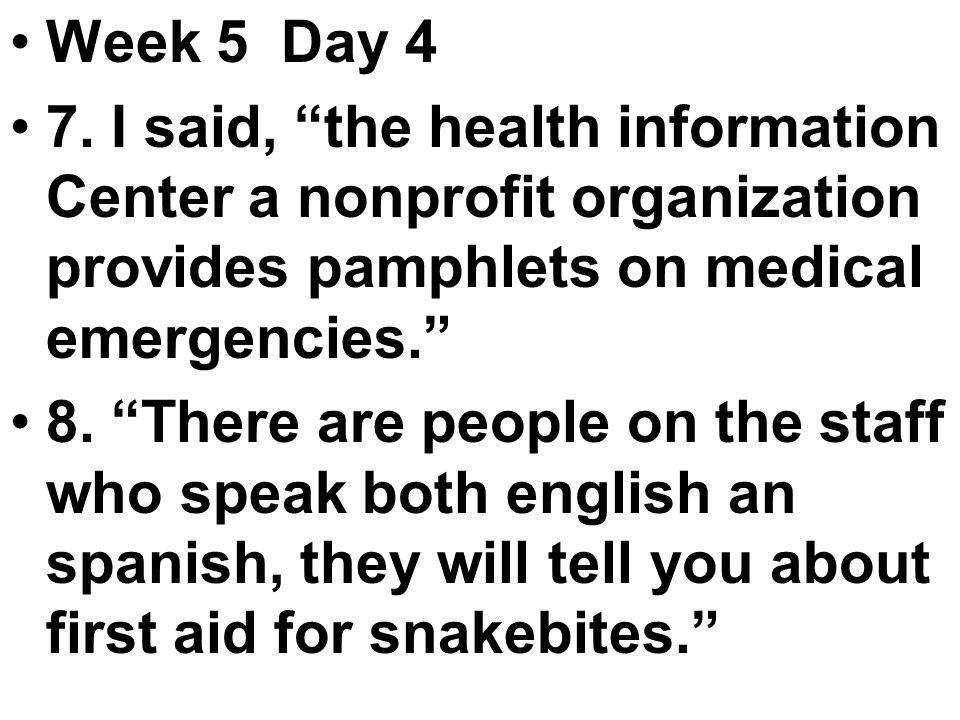 Week 5 Day 4 7.