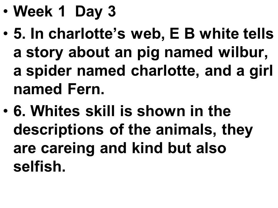 Week 1 Day 3 5.