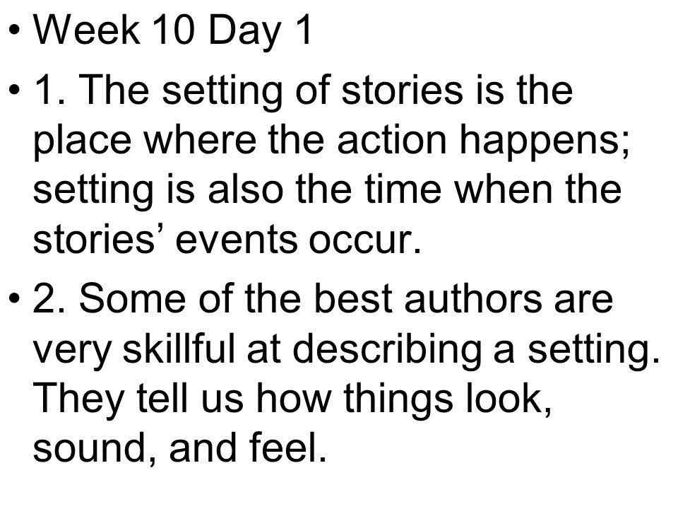Week 10 Day 1 1.