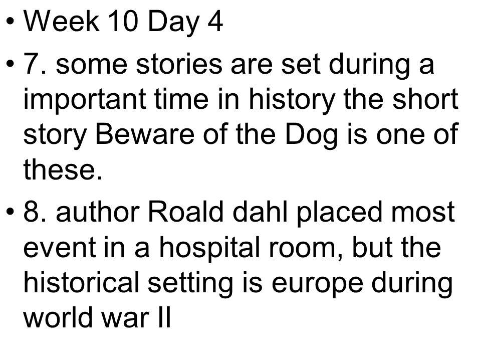 Week 10 Day 4 7.