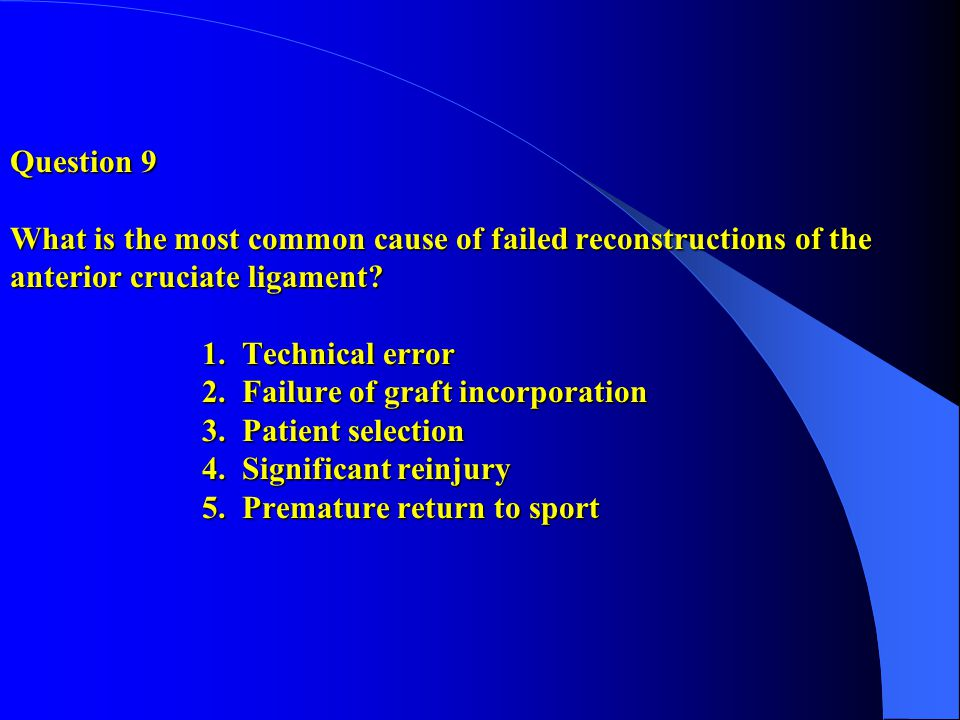 Segond fractures were found in close to 10% of the ACL injuries reported in the study by Hess et al.